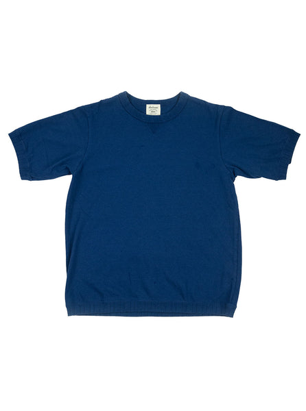 Jackman - Ribbed T-Shirt - Lake Navy - Northern Fells