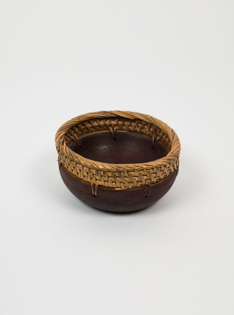 Kain & Wares - Handwoven Wicker & Wood Bowl Set - Northern Fells