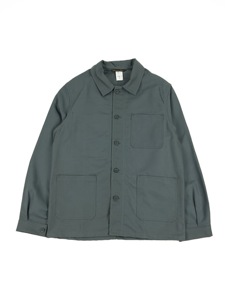 Le Laboureur Work Jacket 02184 Grey The Northern Fells Clothing Company Full