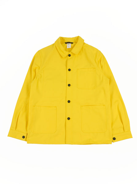 Le Laboureur Work Jacket 02187512 Citron The Northern Fells Clothing Company Full