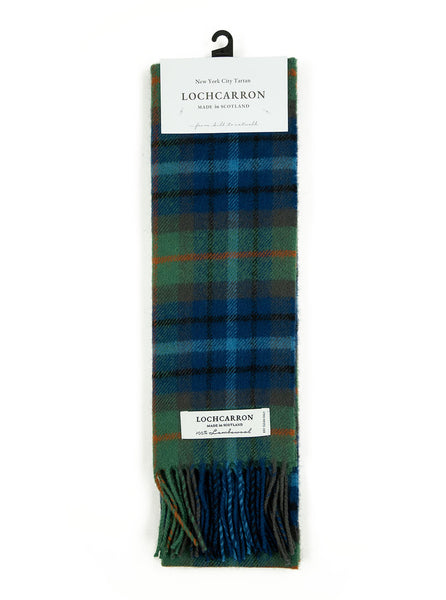 Lochcarron of Scotland - New York City Tartan Lambswool Scarf - Multi
