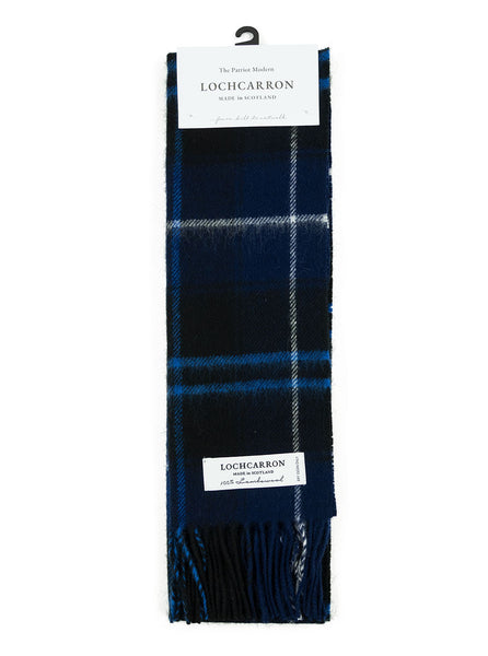 Lochcarron of Scotland - Patriot Tartan Lambswool Scarf - Multi