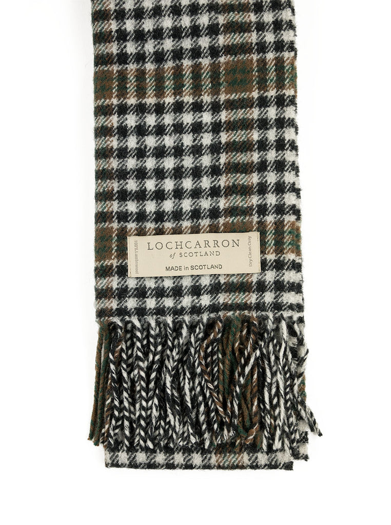 Lochcarron of Scotland - Burns Check Lambswool Scarf - Multi