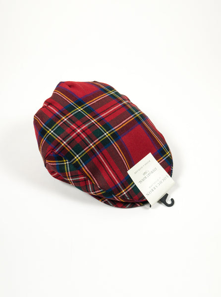 Lochcarron of Scotland - Stewart Royal Modern Tartan Lambswool Cap - Multi - full - The Northern Fells Clothing Company