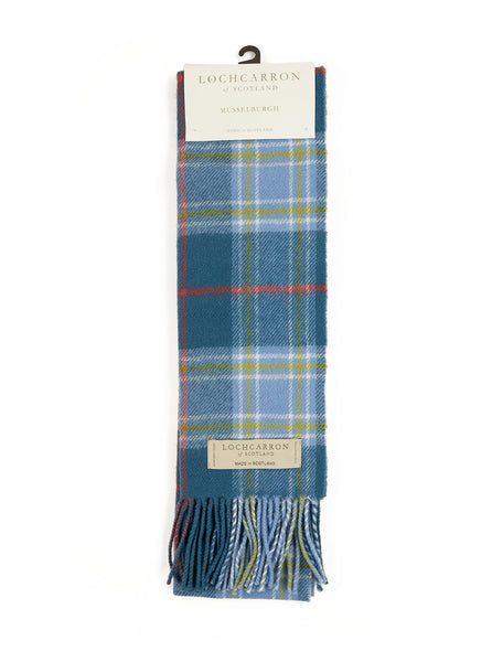 Lochcarron of Scotland - Musselburgh Lambswool Scarf - Multi - Northern Fells