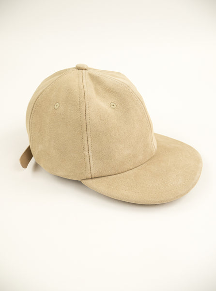 M.C.Overalls MCOA003 Suede 6 Panel Cap Oatmeal The Northern Fells Clothing Company Full