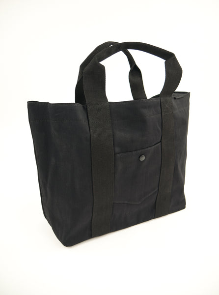 M.C.Overalls MCOA008 Denim Tote Bag Black The Northern Fells Clothing Company Full