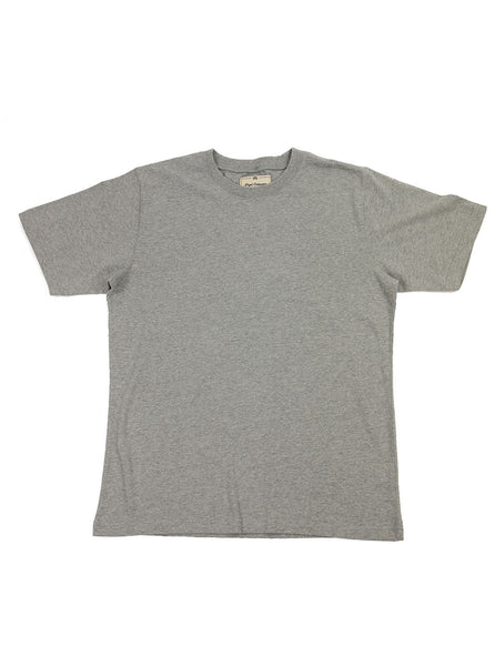 Nigel Cabourn Army Gym - Globe Back Print Tee - Grey Marl - Northern Fells