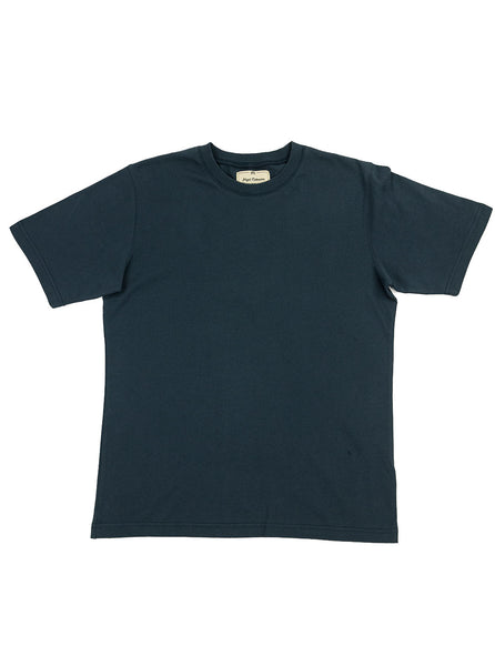Nigel Cabourn Army Gym - Globe Back Print Tee - Navy - Northern Fells