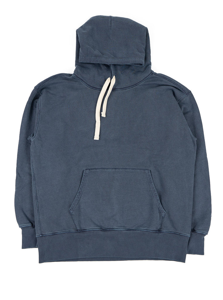 Nigel Cabourn Hoodie Black Navy The Northern Fells Clothing Company Full