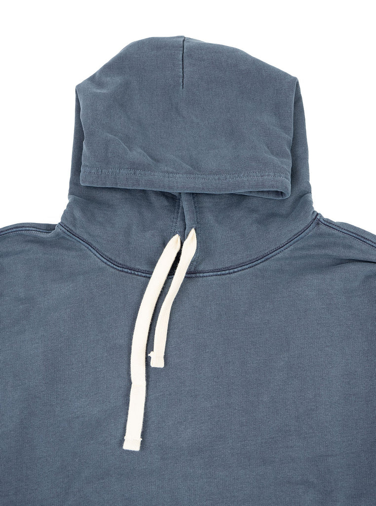 Nigel Cabourn Hoodie Black Navy The Northern Fells Clothing Company Neck