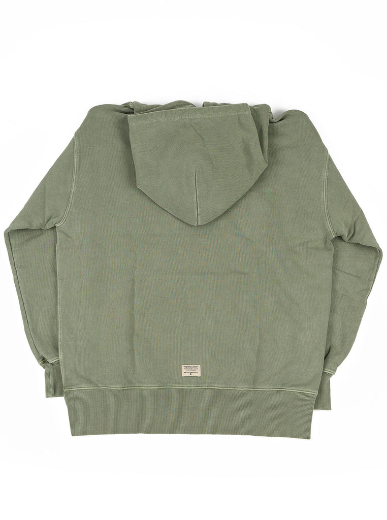 Nigel Cabourn Hoodie Washed Army The Northern Fells Clothing Company Back
