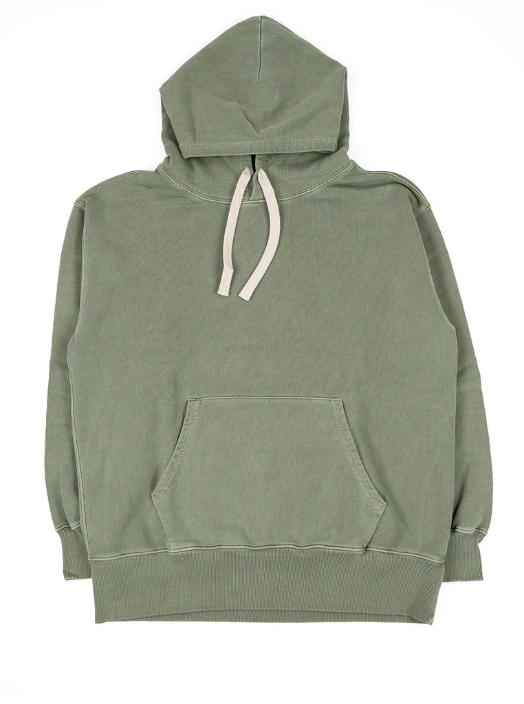 Nigel Cabourn Hoodie Washed Army The Northern Fells Clothing Company Full
