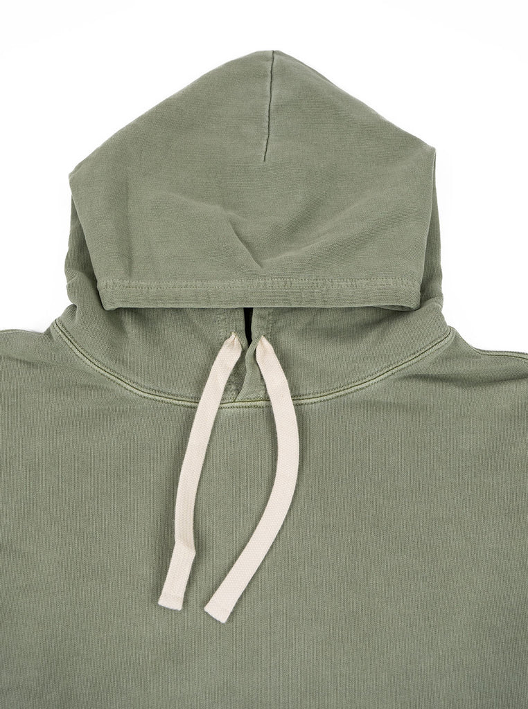 Nigel Cabourn Hoodie Washed Army The Northern Fells Clothing Company Neck