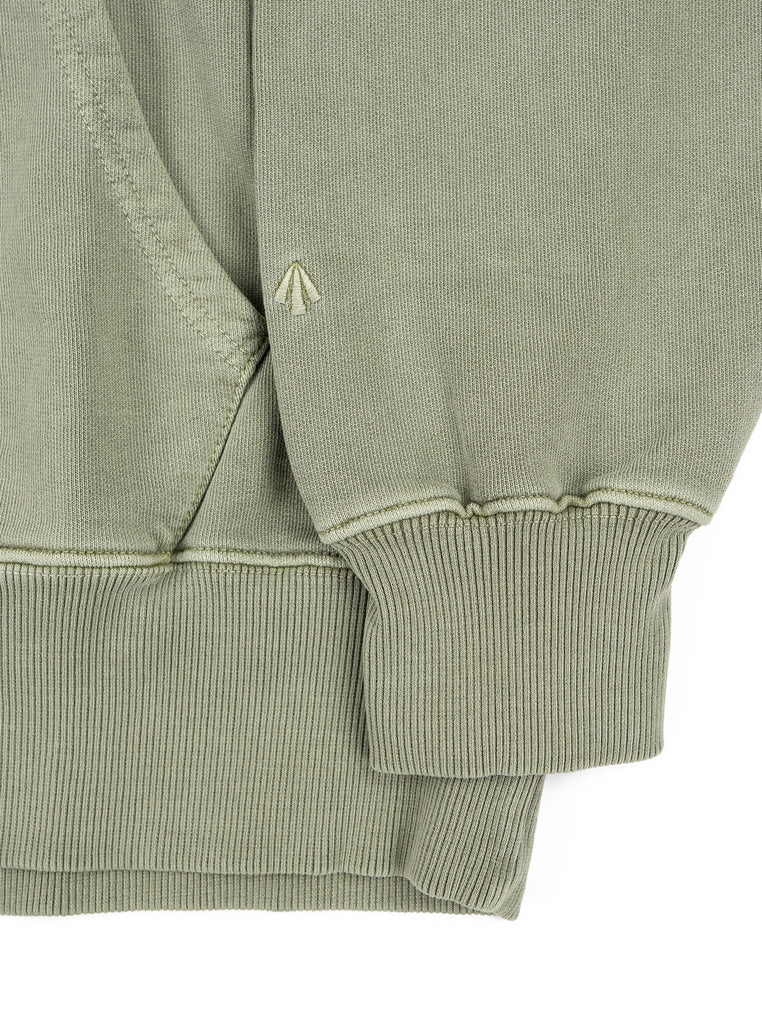 Nigel Cabourn Hoodie Washed Army The Northern Fells Clothing Company Sleeve