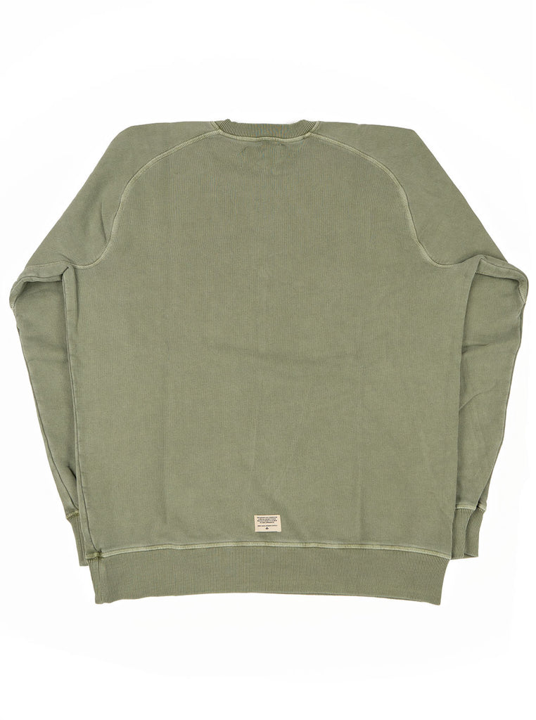 Nigel Cabourn J 54 Crew Sweat Washed Army The Northern Fells Clothing Company Back