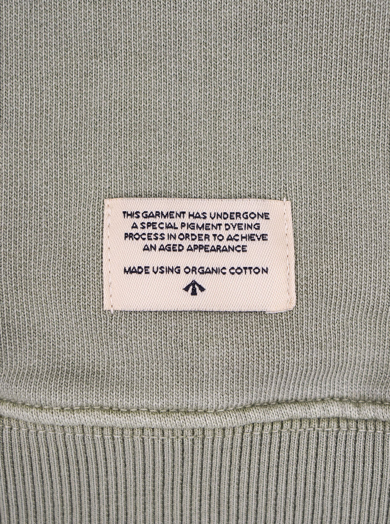 Nigel Cabourn J 54 Crew Sweat Washed Army The Northern Fells Clothing Company Detail