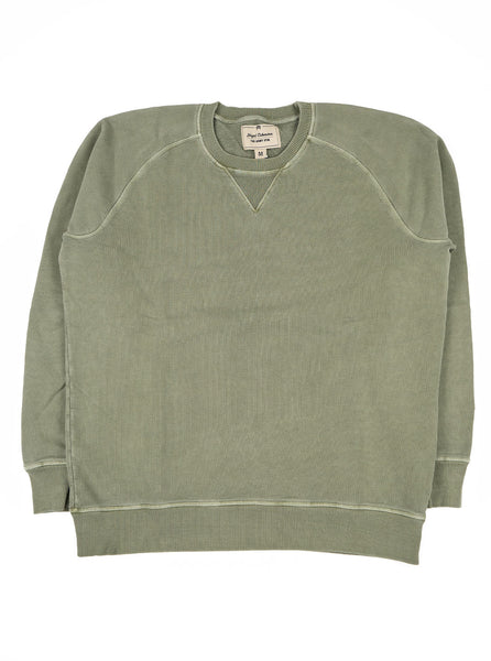Nigel Cabourn J 54 Crew Sweat Washed Army The Northern Fells Clothing Company Full