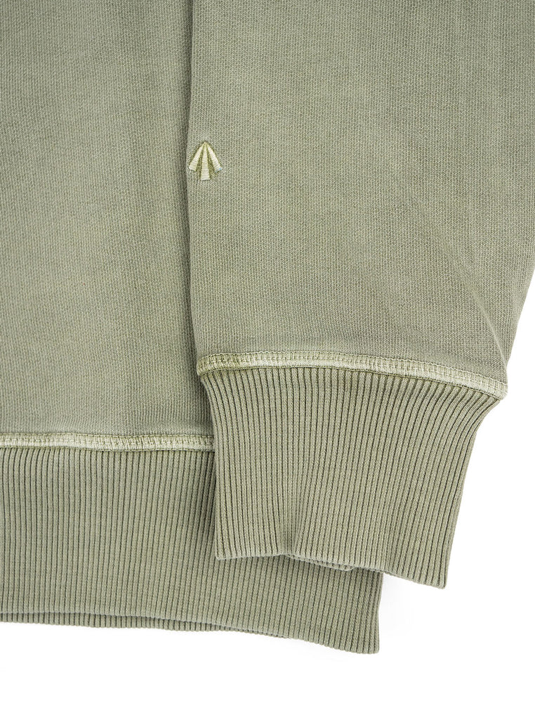 Nigel Cabourn J 54 Crew Sweat Washed Army The Northern Fells Clothing Company Sleeve