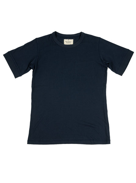 Nigel Cabourn Army Gym - Army Tee - Dark Navy - Northern Fells