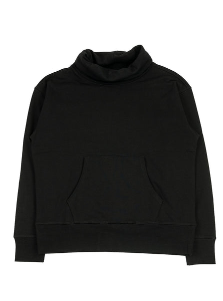 Nigel Cabourn Army Gym - Crew Roll Neck - Black - Northern Fells
