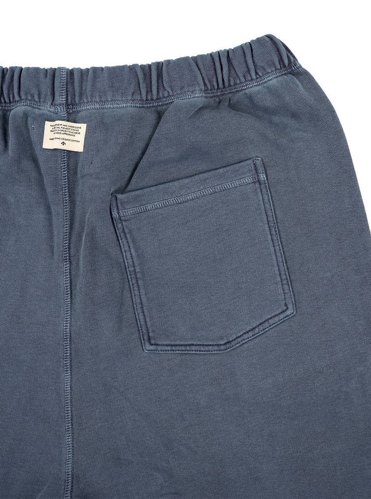 Nigel Cabourn Joggers Black Navy The Northern Fells Clothing Company Back