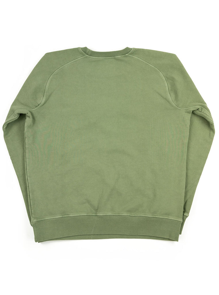 Nigel Cabourn Logo Crew Washed Army The Northern Fells Clothing Company Back