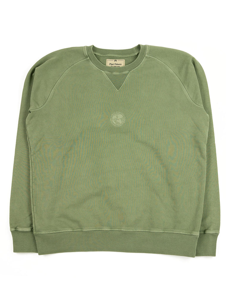 Nigel Cabourn Logo Crew Washed Army The Northern Fells Clothing Company Full