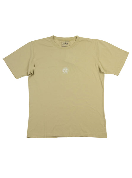 Nigel Cabourn Logo Tee Natural The Northern Fells Clothing Company Full