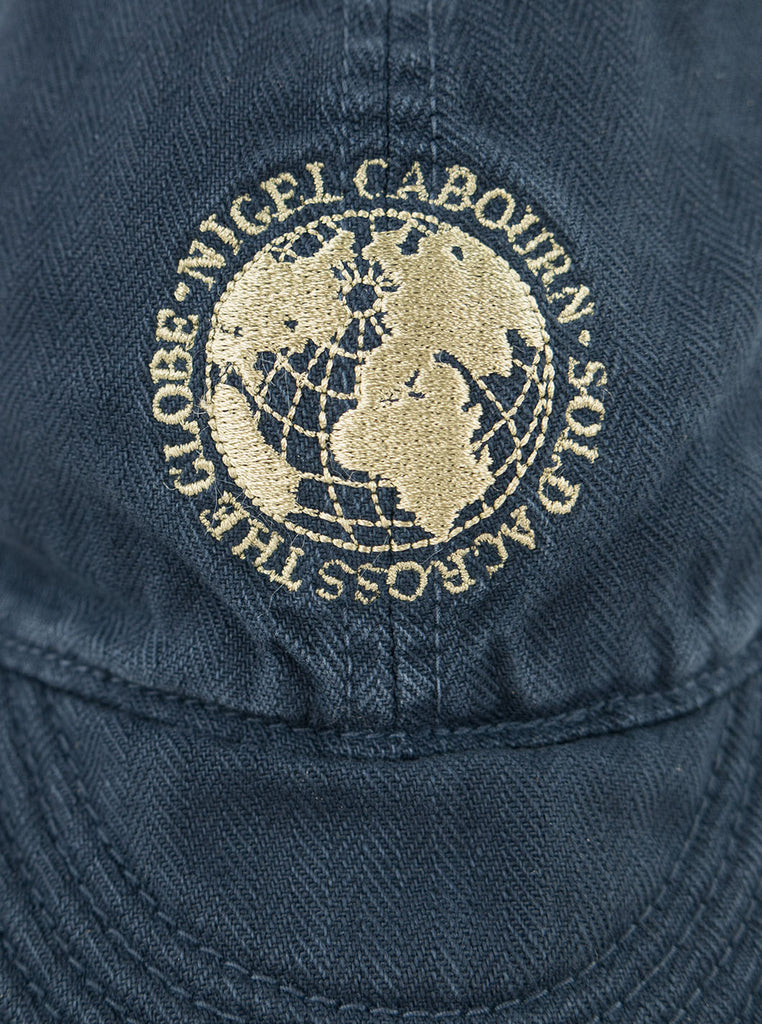 Nigel Cabourn Lybro - Globe Mechanics Cap - Black Navy - Northern Fells