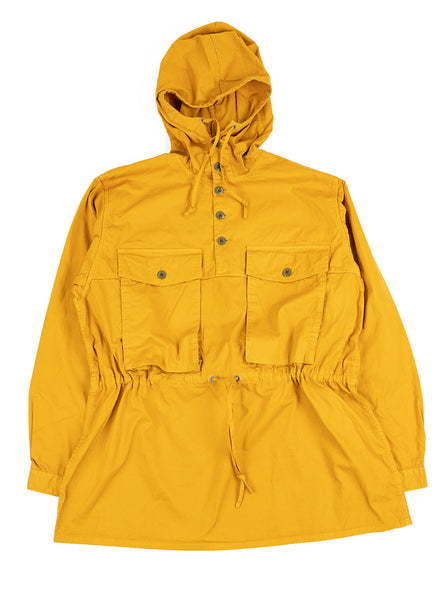 Nigel Cabourn OW 52 Track Smock Poplin Yellow The Northern Fells Clothing Company