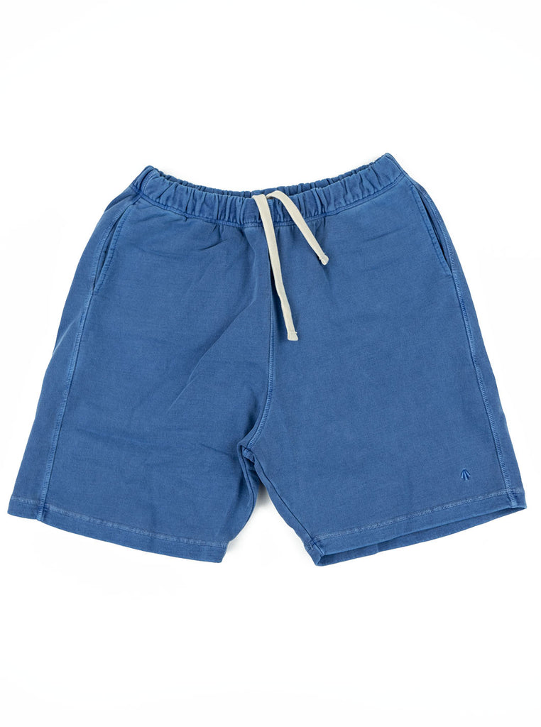 Nigel Cabourn Shorts Washed Blue The Northern Fells Clothing Company Full
