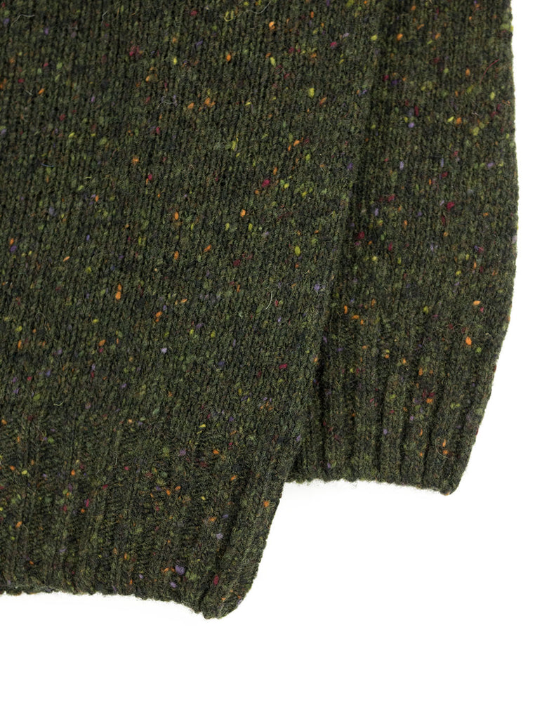Northern Fells - Donegal Sweater - Mourne Green - Northern Fells