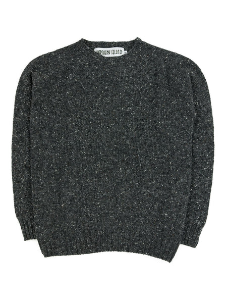 Northern Fells - Donegal Sweater - Unshin Charcoal - Northern Fells