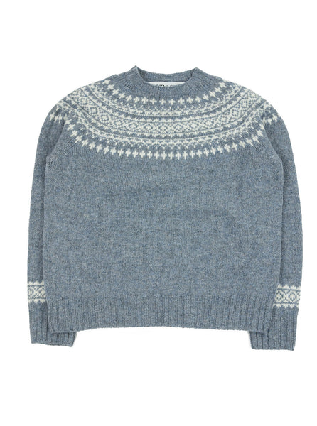Northern Fells - Fair Isle Woman's Sweater - Stardust - Northern Fells