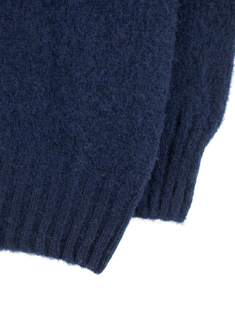 Northern Fells - Brushed Crewneck Sweater - New Navy - Northern Fells