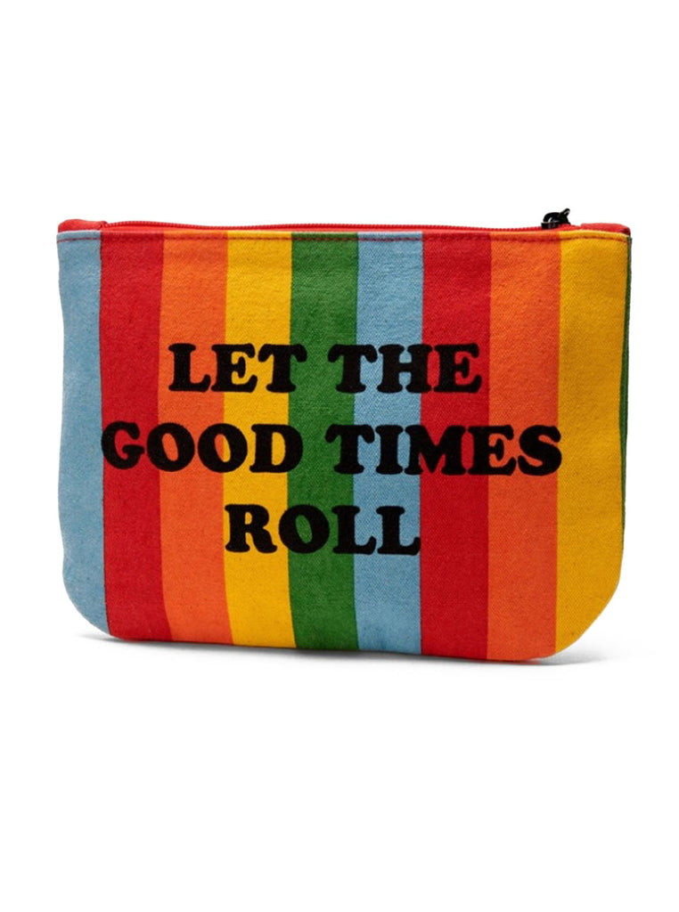 Peanuts - Let the Good Times Roll Pouch - Striped