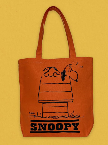 Peanuts Snoopy Orange Mornings The Northern Fells Clothing Company Front