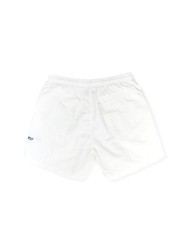 Pop X Wayward Snowy Shorts White The Northern Fells Clothing Company Back