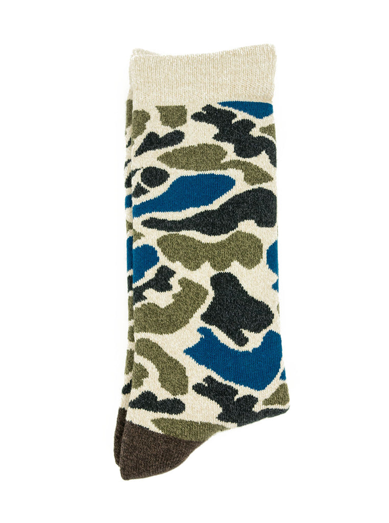 RoToTo Camo Blue R1032 The Northern Fells Clothing Company Flat