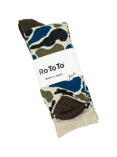 RoToTo Camo Blue R1032 The Northern Fells Clothing Company Full