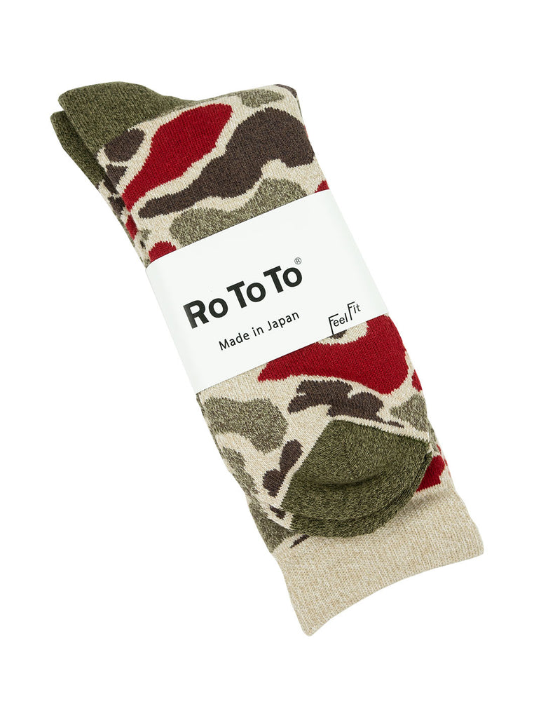 RoToTo Camo Red R1032 The Northern Fells Clothing Company Full