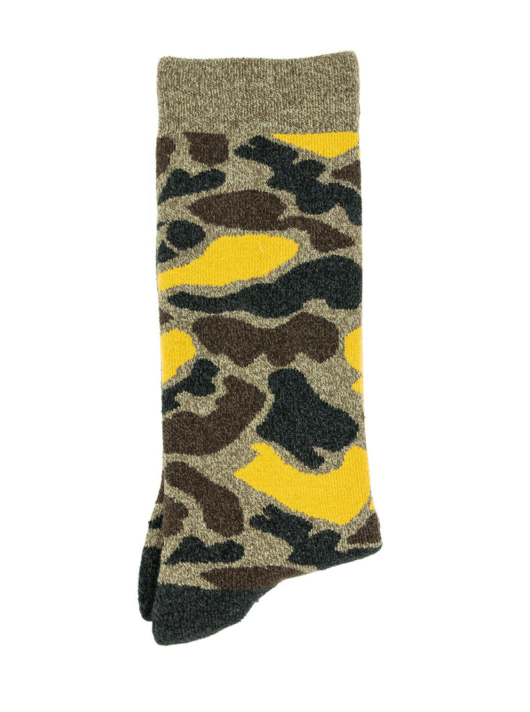 RoToTo Camo Yellow R1032 The Northern Fells Clothing Company Flat