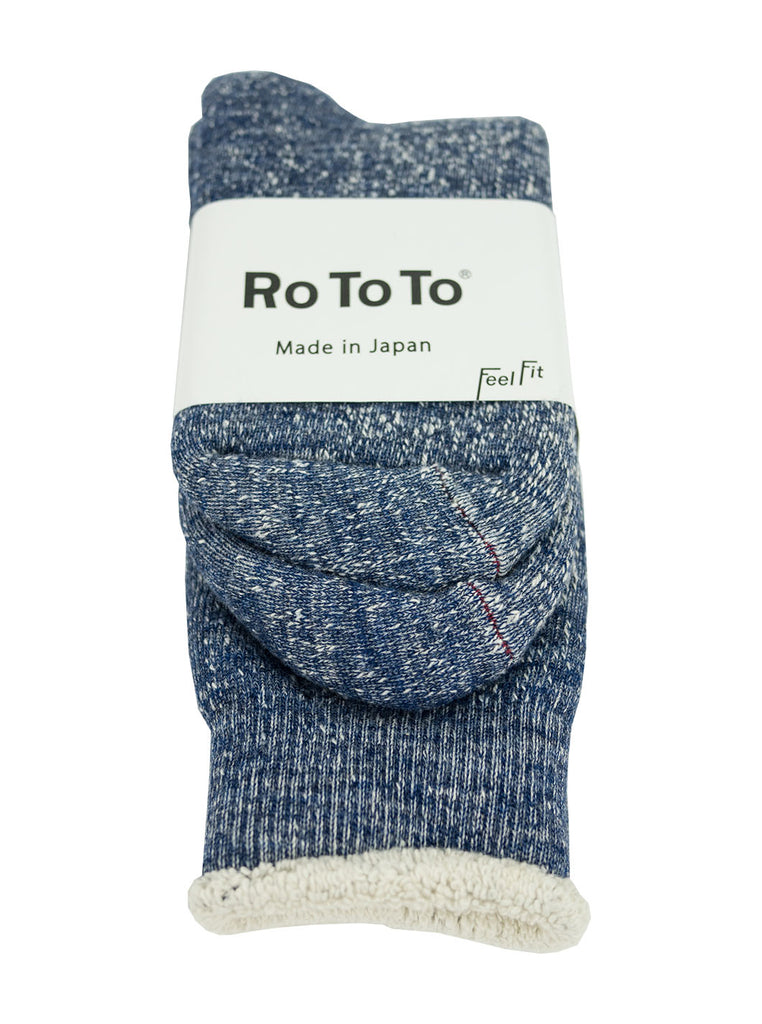 RoToTo - Double Faced Socks - Deep Ocean - Northern Fells