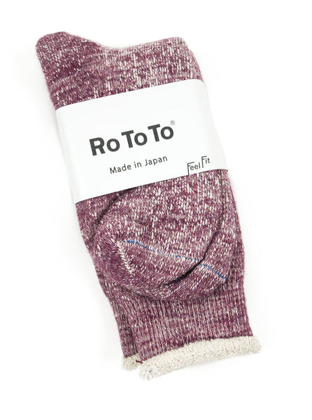 RoToTo - Double Faced Socks - Grape - Northern Fells