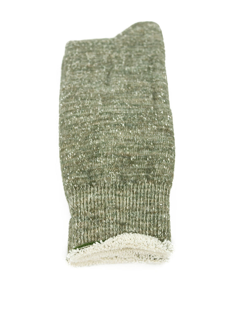 RoToTo - Double Faced Socks - Army Green - Northern Fells