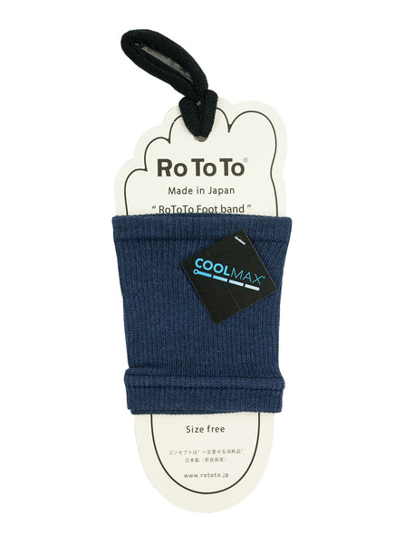 Rototo Footband Coolmax Navy The Northern Fells Clothing Company Full