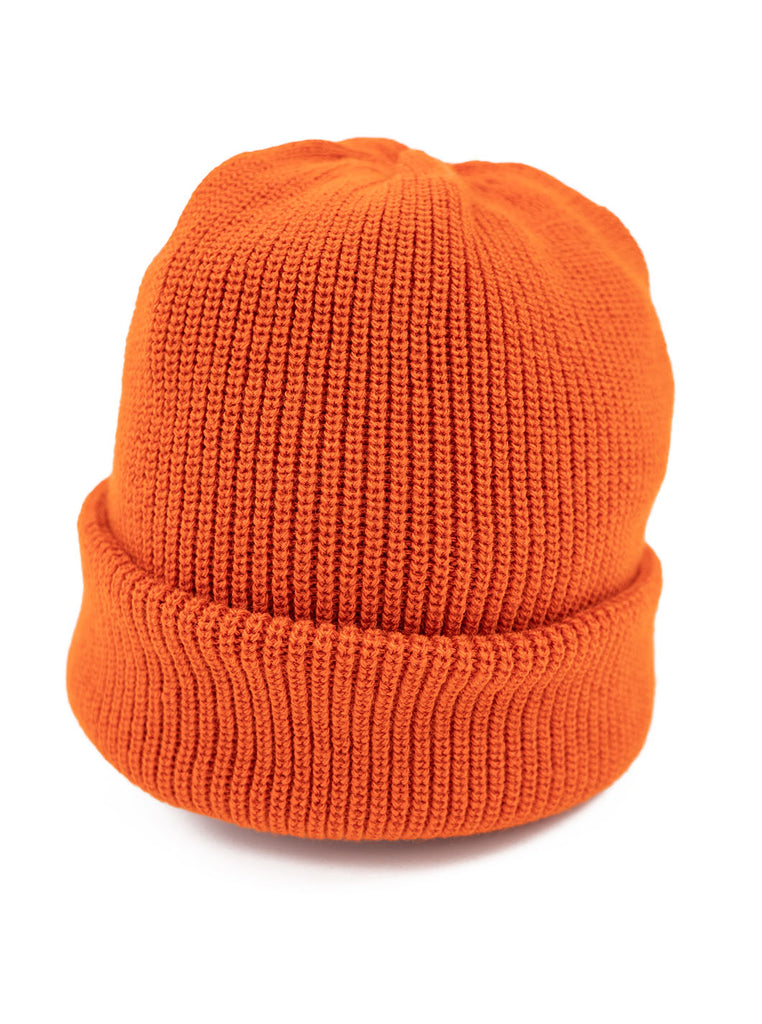 Rototo R5016 Bulky Watch Cap Double Face Socks Orange The Northern Fells Clothing Company Detail