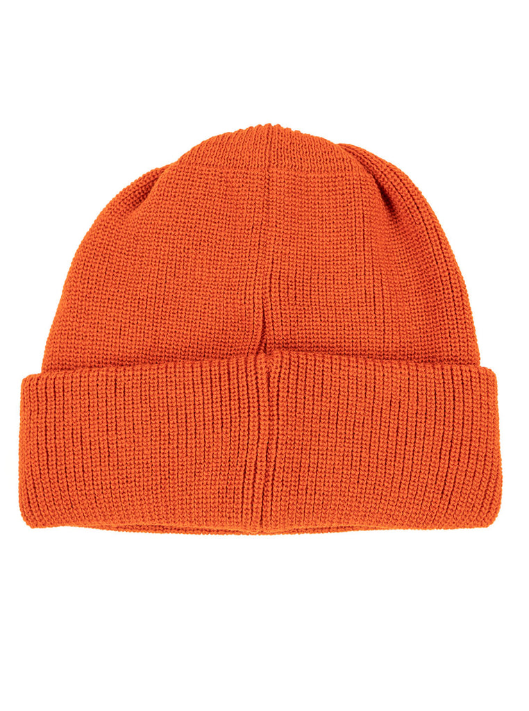 Rototo R5016 Bulky Watch Cap Double Face Socks Orange The Northern Fells Clothing Company Flat
