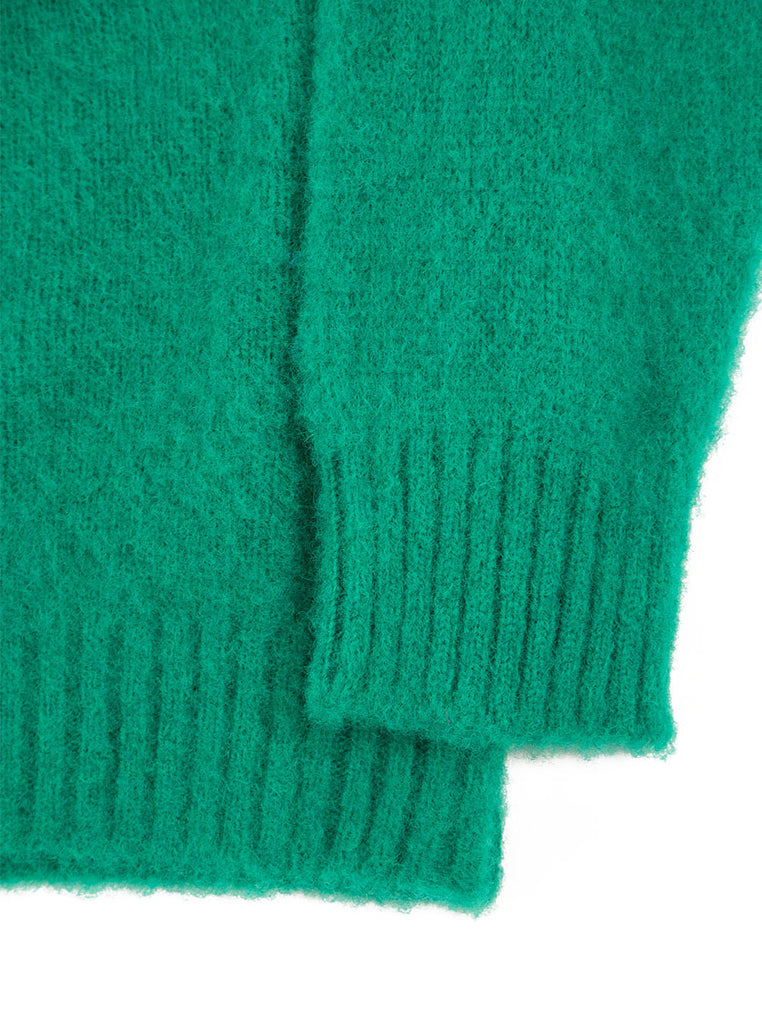 Shetland Woolens Shaggy Dog Mint The Northern Fells Clothing Company Sleeve
